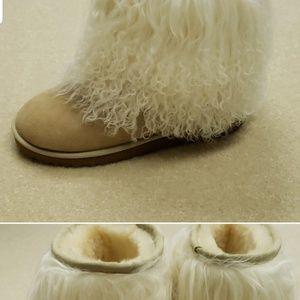 UGG fur sheepskin boots